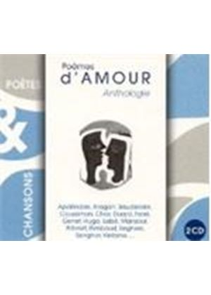 Various Artists - POEMES D'AMOUR ANTHOLOGIE 2CD
