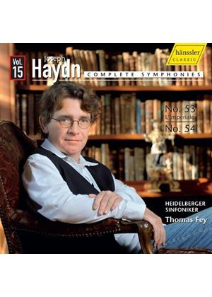 Haydn: Complete Symphonies, Vol. 15 (Music CD)