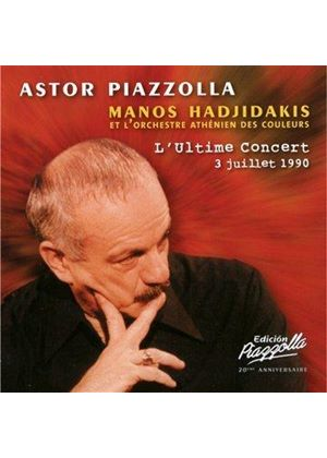 Astor Piazzolla - Ultime Concert (3 Juillet 1990/Live Recording) (Music CD)