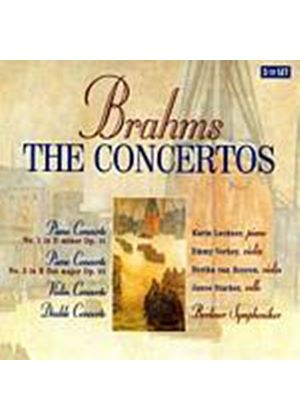 Johannes Brahms - The Concertos (Amsterdam Phil Orch, Arpad Joo) (Music CD)