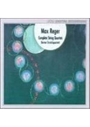 Reger - STRING QUARTETS  3CD