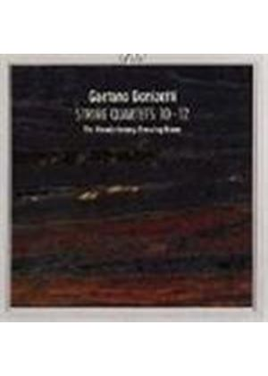 Donizetti: String Quartets Nos. 10-12