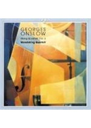 Georges Onslow - STRING QUARTETS VOL 3