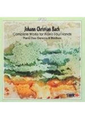 Johann Christian Bach - COMPLETE WORKS FOR PIANO FOUR HANDS