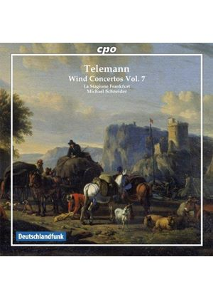 Telemann: Wind Concertos, Vol. 7 (Music CD)