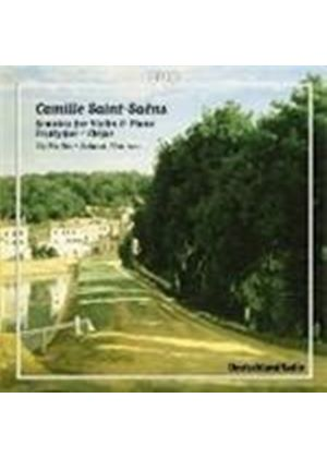 Camille Saint-Saens - Sonatas For Violin And Piano (Pontinen, Wallin)