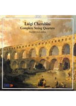 Luigi Cherubini - Complete String Quartets (Hausmusik London) (Music CD)