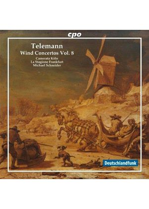 Telemann: Wind Concertos, Vol. 8 (Music CD)