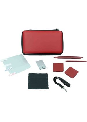 Crown 9-in-1 Gamer Kit : Wine Red (DSi XL)