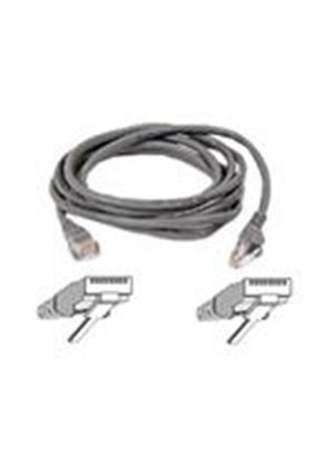 Belkin - Patch cable - RJ-45 (M) - RJ-45 (M) - 3 m - ( CAT 5e ) - gray