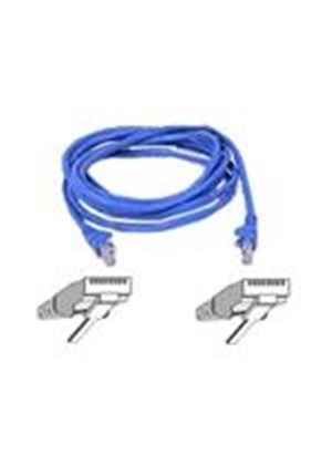 Belkin - Snagless Patch cable - RJ-45 (M) - RJ-45 (M) - 5 m - ( CAT 5e ) - Blue