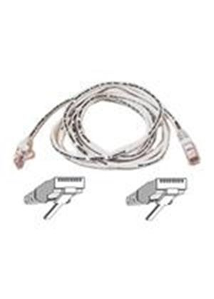 Belkin - Patch cable - RJ-45 (M) - RJ-45 (M) - 15 m - ( CAT 5e ) - white