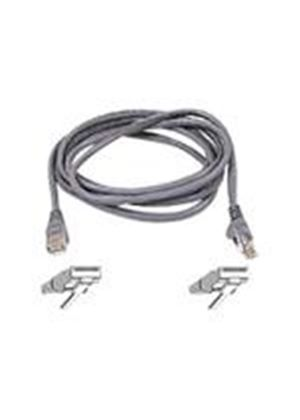 Belkin High Performance - Patch cable - RJ-45 (M) - RJ-45 (M) - 3 m - UTP - ( CAT 6 ) - gray