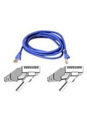 Belkin High Performance - Patch cable - RJ-45 (M) - RJ-45 (M) - 10 m - UTP - ( CAT 6 ) - blue
