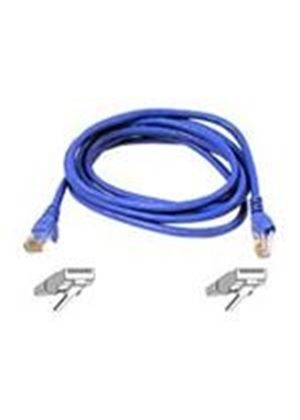 Belkin High Performance - Patch cable - RJ-45 (M) - RJ-45 (M) - 15 m - UTP - ( CAT 6 ) - blue