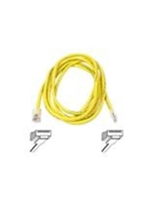 Belkin High Performance - Patch cable - RJ-45 (M) - RJ-45 (M) - 15 m - UTP - ( CAT 6 ) - yellow