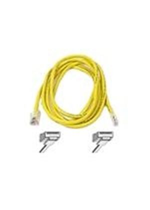 Belkin High Performance - Patch cable - RJ-45 (M) - RJ-45 (M) - 50 cm - UTP - ( CAT 6 ) - yellow