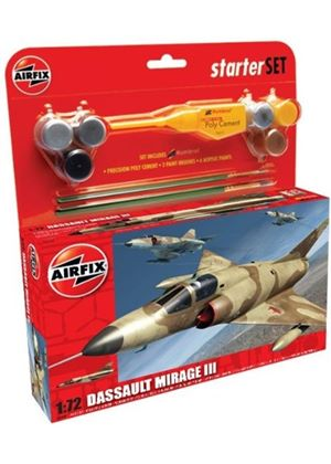 Airfix A50087 Dassault Mirage III 1:72 Scale Military Aircraft Category 2