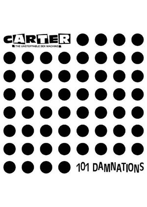 Carter the Unstoppable Sex Machine - 101 Damnations plus Bonus Tracks (Music CD)