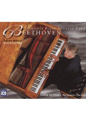 Beethoven - COMPLETE PIANO SONATAS VOL.2 3CD