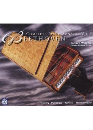 Beethoven - COMPLETE PIANO SONATAS VOL.3 3CD