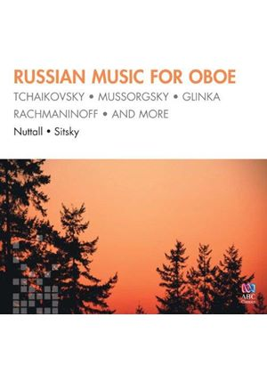 Russian Music for Oboe (Music CD)
