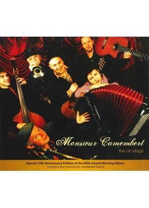 Monsieur Camembert - Live on Stage (Live Recording) (Music CD)