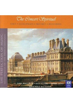 Various Composers - Masterpieces Of French Baroque Vol. 3 (MacLiver, Clark) (Music CD)