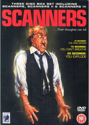 Scanners / Scanners II / Scanners III (Wide Screen) (Three Discs)
