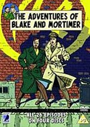 Blake And Mortimer - The Adventures Of Blake And Mortimer (Animated) (Box Set) (Four Discs)