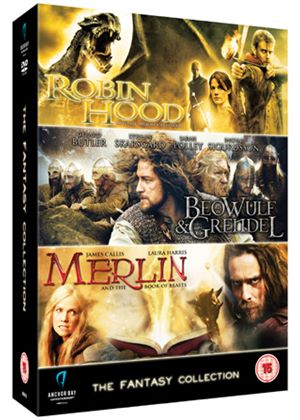 Fantasy Collection (Beowulf & Grendel / Merlin Book of Beasts / Robin Hood)