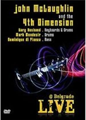 John Mclaughlin And The 4Th Dimension - Live At Belgrade