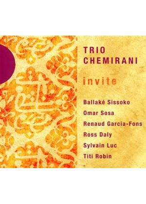 Trio Chemirani - Trio Chemirani Invite� (Music CD)