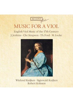 Music for a Viol (Music CD)