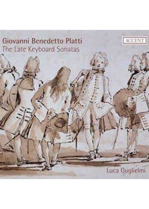 Giovanni Benedetto Platti: The Late Keyboard Sonatas (Music CD)