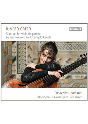 Vero Orfeo: Sonatas for Viola da Gamba by and Inspired by Arcangelo Corelli (Music CD)