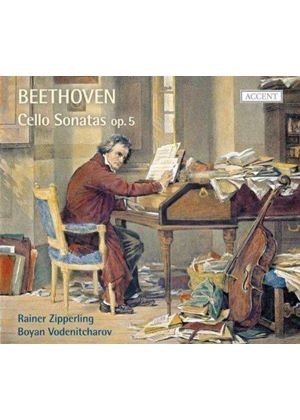 Beethoven: Cello Sonatas (Music CD)