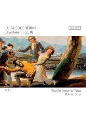 Boccherini: Divertimenti, Op. 16 (Music CD)
