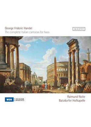 Handel: The Complete Italian Cantatas for Bass (Music CD)