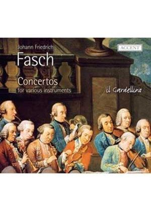 Fasch: Concertos for Various Instruments (Music CD)