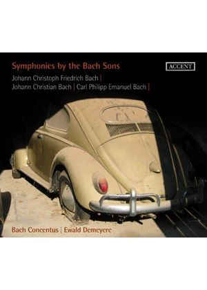 Symphonies by the Bach Sons (Music CD)