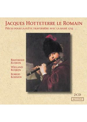Hotteterre: Flute & Continuo Works.
