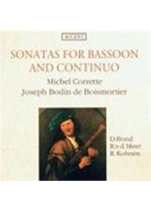 CORRETTE - SONATAS FOR BASSOON & CONTINUO