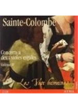 Sainte-Colombe: Concerts for 2 Viols