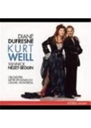 Weill: Symphony No 2; Songs