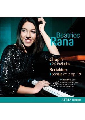 Chopin: 26 Préludes; Scriabine: Sonate No. 2 Op. 19 (Music CD)