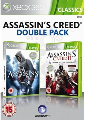 Ubisoft Double Pack - Assassin's Creed 1 & 2 (Xbox 360)