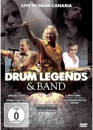 The Drum Legends & Band, Live in Gran Canaria