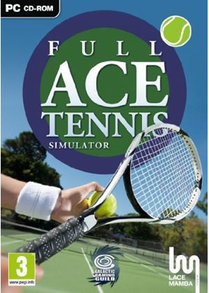 Full Ace Tennis Simulator (PC DVD)