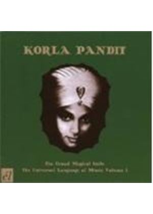 Korla Pandit - Grand Moghul Suite, The/Universal Language Of Music (Music CD)